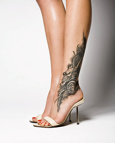 13 of the sexiest foot and flip flop tattoos flippies. Black Bedroom Furniture Sets. Home Design Ideas