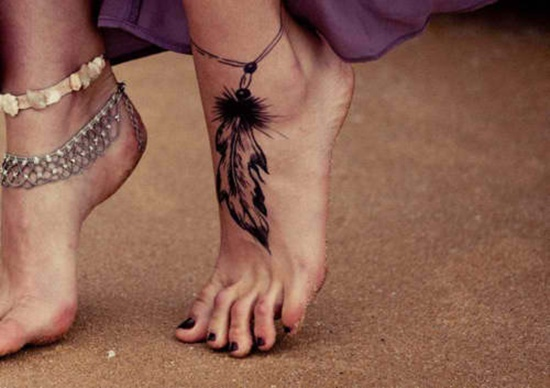 sexiest foot tattoo 9