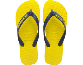 Havaianas Brazil Logo Citrus Yellow Top