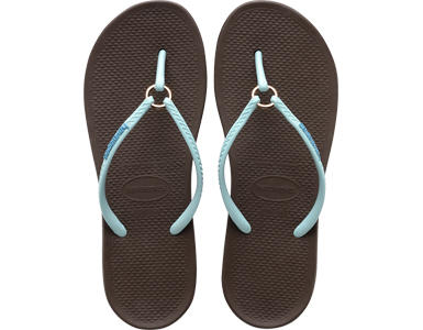 Havaianas Ring Dark Brown Top